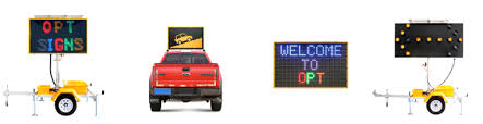 lighted message board signs oem traffic warning led flashing arrow signs portable road safety