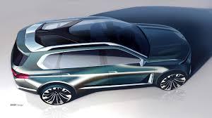bmw minivan concept bmw concept x7 shows its gargantuan grille in official videos