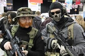 Call Duty Ghost Halloween Costume Cosplay Island Costume Saucyjack Lieutenant Simon