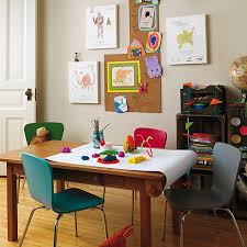living room playroom dining room playroom combo crate and barrel