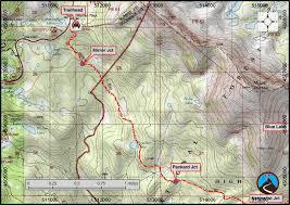 Uncw Map Hiking Naturalist Basin Western Uintas Road Trip Ryan