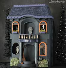 halloween decorated house cheap halloween decorations jennifer decorates