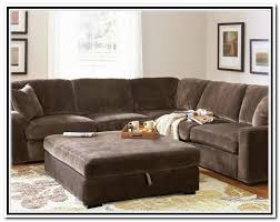 oversized sectional with ottoman u0026 deep seated couch extra deep