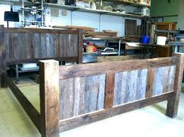 Reclaimed Wood Bed Frame Reclaimed Wood Bed Reclaimed Wood Bed Beautiful Reclaimed Wood Bed