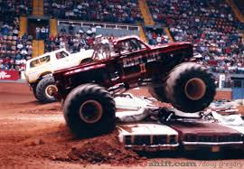 monster trucks crash videos bangshift com vintage monster truck photos from the garrett