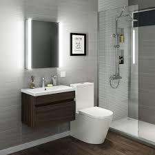 illuminated bathroom cabinet with shaver point benevola