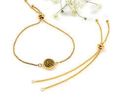 adjustable bracelet chain images Adjustable chain bracelet finding matte gold rose gold box jpg