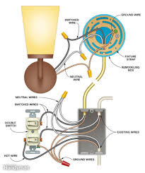 how to wire a light switch diagram gooddy org