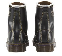 mens biker shoes dr martens unisex archive philips capper vintage smooth leather