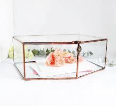 wedding gift holder wedding card box envelope holder glass box wedding gift glass