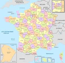 Provence France Map Map Of France Departments France Map With Departments And Regions