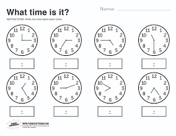 telling time worksheets 2nd grade worksheets for kids u0026 free