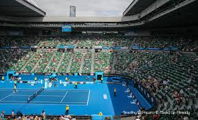experiencing the australian open mixed up already