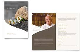 funeral card template memorial funeral program newsletter template design funeral card