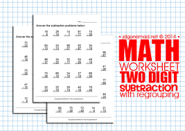 jdgonemad net blog archive math worksheet subtraction with
