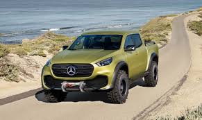 mercedes benz x class ute arrives in australia loaded 4x4