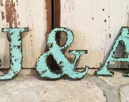 Home Decor Letters Of Alphabet Black Rustic Chic Wooden Letter B 18 Home Decor