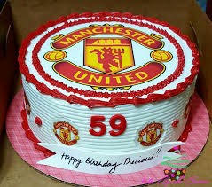 20 darrens 50th images manchester united cake