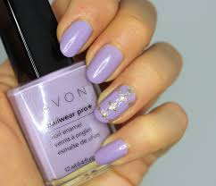 easy lavender lilac flower nail art design for beginners youtube
