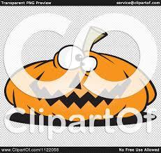 halloween no background cartoon of a nearly flat jackolantern halloween pumpkin royalty