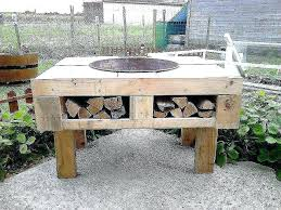 how to build a fire pit table diy fire pit table icenakrub
