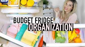 kitchen organization ideas budget fridge organization ideas on a budget re organizing my parents