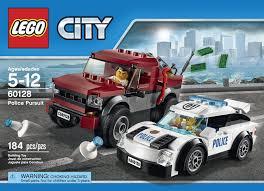 amazon com lego city police pursuit 60128 toys u0026 games