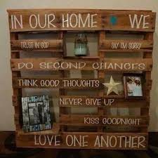 Home Decor With Wood Pallets Best 25 Wooden Pallet Crafts Ideas On Pinterest Pallet Diy
