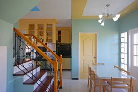 Home Design Ideas Interior Nice Tiny House Interior Design With Blue Wall Color And Cool
