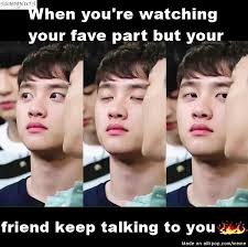 Good Friends Meme - meme center allkpop or you turn on your fav song and say this