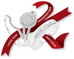 ring wedding matching wedding ring sets diamond wedding ring sets my trio rings