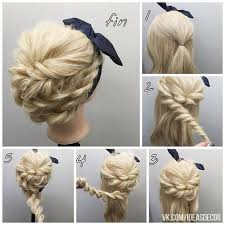 directions for easy updos for medium hair best 25 step by step hairstyles ideas on pinterest easy
