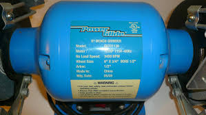 Dayton Bench Grinder Manual Power Glide 6