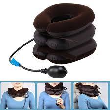 cuscino massaggiatore collo cuscino massaggiatore air cervicale della trazione collo
