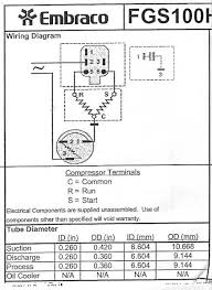 embraco compressor wiring diagram wiring diagram and schematic