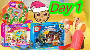 christmas advent calendar polly pocket playmobil christmas advent calendar day 1