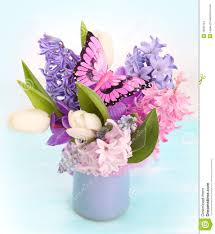 bouquet spring flowers stock images image 18590734