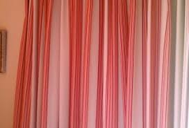 Red And White Striped Curtain Jungle Curtains Furniture Ideas Deltaangelgroup