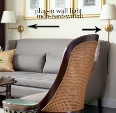 Non Hardwired Wall Sconce Exle Of Non Hardwired In Sconces Or Wall Lights In This