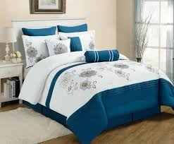 Brown And Blue Bed Sets Bedroom Comforters Sets Best Home Design Ideas Stylesyllabus Us