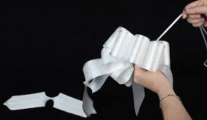 pull bow ribbon lace flora satin ribbon pull bow ribbon and trims