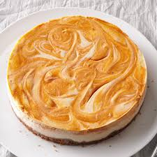 Pumpkin Food by Spiced Pumpkin Swirl Cheesecake Recipe Taste Of Home