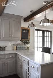 kitchen design ideas gray cabinets flatware water for alluring