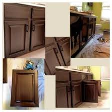 Rustoleum Kitchen Cabinet Rust Oleum Cabinet Transformation Before And After Home