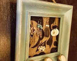 Shabby Chic Jewelry Display by Frame Jewelry Holder Etsy