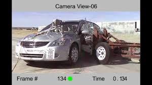 nissan altima safety rating nissan altima 2011 side crash test nhtsa full length test