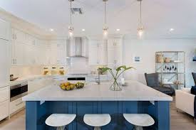 white kitchen cabinets with blue island 33 blue kitchen island ideas stunning trends you can apply