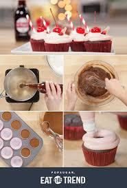 cherry dr pepper cupcake recipe popsugar food