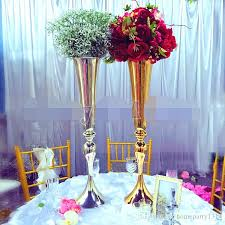 cheap table centerpieces 2017 wedding t stage centerpiece road lead table decor flower vase