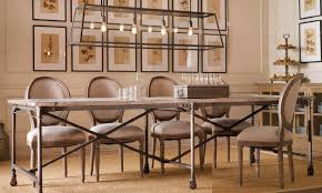 restoration hardware flatiron table flatiron trestle table 5 top restoration hardware flatiron dining